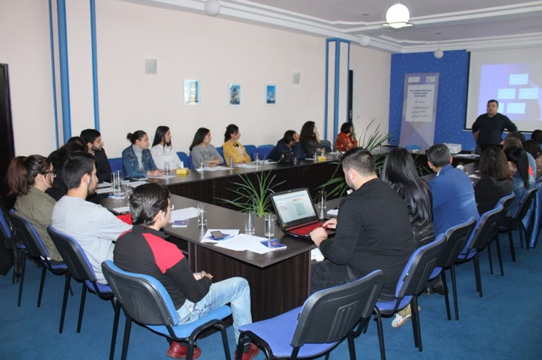 The youth of Shirak marz develop their capacities