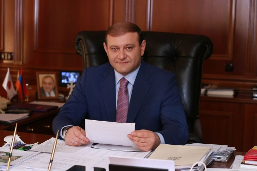 Yerevan Mayor Taron Margaryan gave interview to