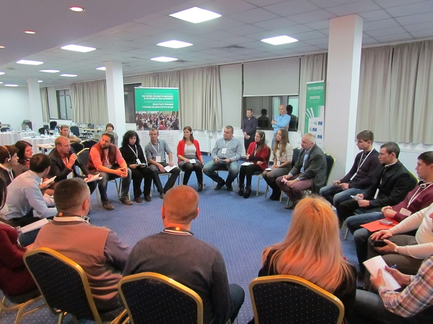 Young leaders from Eastern Ukraine engaged for change at local level