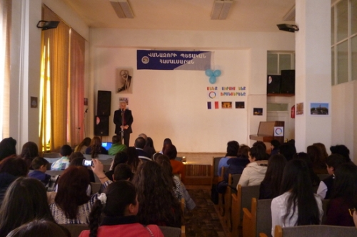 The month of La Francophonie was launched in the region of Lori
