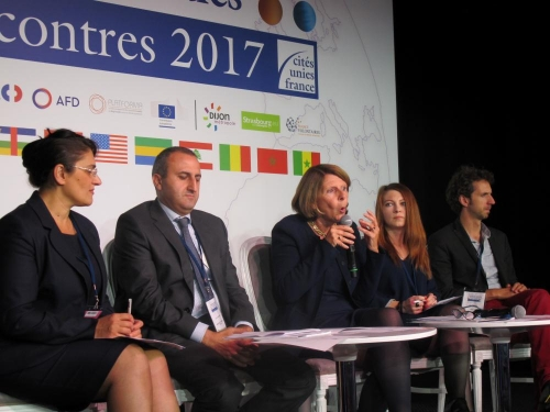 RENCONTRES DE L'ACTION INTERNATIONALE DES COLLECTIVITÉS A PARIS