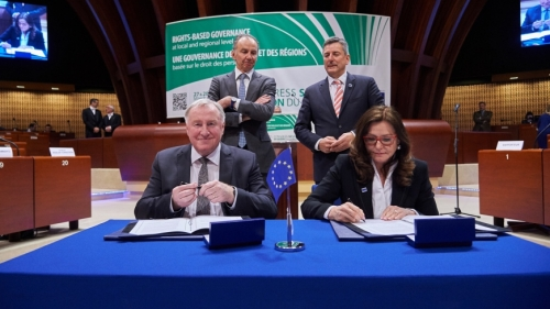 The Congress and the European Committee of the Regions sign a new Co-operation Agreement