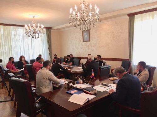 The energy efficiency target circulating budget fund was formed in Aparan municipality