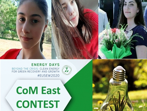 The winners of the essay contest ''How local actions could address the global challenges of climate change?