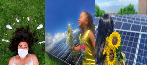The winners of the photo contest ''Green and sustainable growth