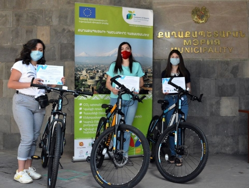 EU Sustainable Energy Week: Awarding of CoM East and UCA contests in Gavar