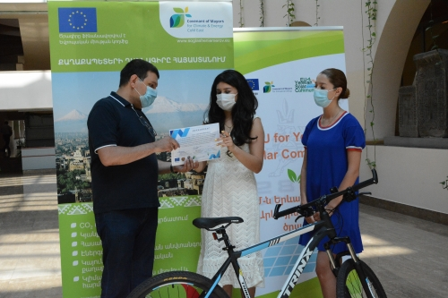 EU Sustainable Energy Week. Awarding Ceremony in Yerevan