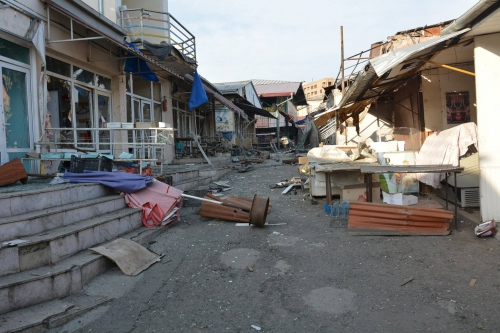 Azerbaijan shelled Stepanakert and Shushi: there are wounded among the civilian population